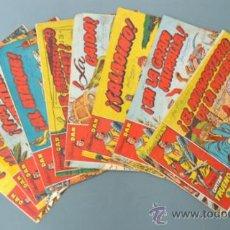 Tebeos: LOTE DE 9 CAPITÁN TRUENO. EDICIONES BRUGUERA.. Lote 32316491