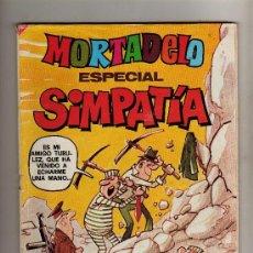 Tebeos: (M-11) MORTADELO ESPECIAL SIMPATIA 1980 NUM 83, EDT BRUGUERA, LOMO ROTO. Lote 32255269