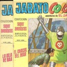 Tebeos: JABATO COLOR - EDICION 1970-71 - LOTE DE 6 NUMEROS . Lote 32269443