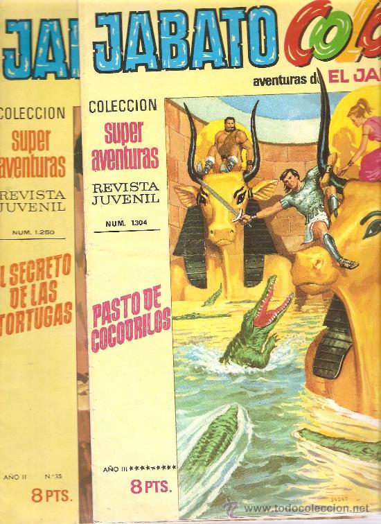 Tebeos: JABATO COLOR - EDICION 1970-71 - LOTE DE 6 NUMEROS - Foto 2 - 32269443