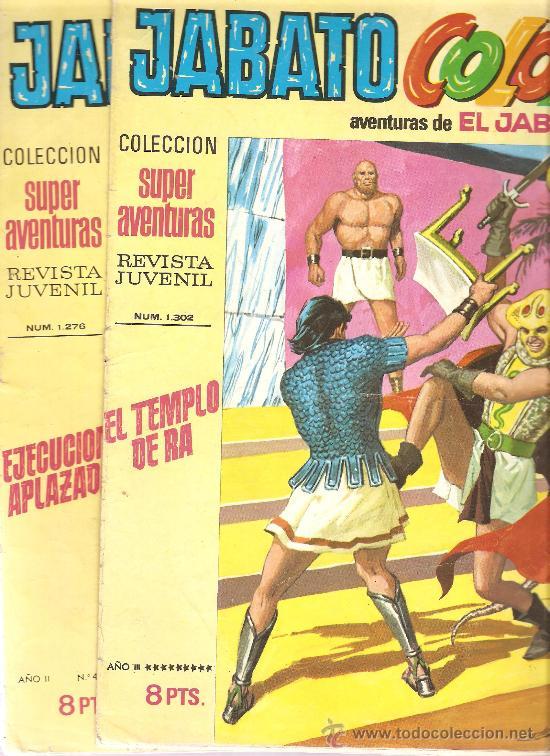 Tebeos: JABATO COLOR - EDICION 1970-71 - LOTE DE 6 NUMEROS - Foto 3 - 32269443