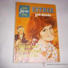 Tebeos: SUPER JOYAS FEMENINAS Nº 3, ESTHER Y SU MUNDO, EDITORIAL BRUGUERA. Lote 32275799