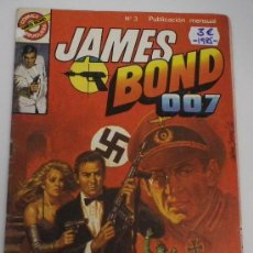 Tebeos: JAMES BOND 007. Nº 3.BRUGUERA.. Lote 32278520