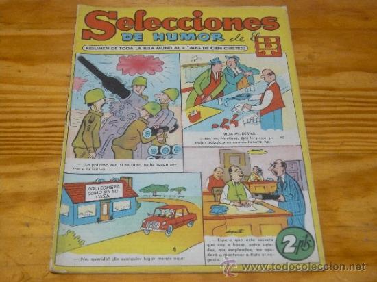 TEBEOS-COMICS GOYO - SELECCIONES HUMOR DEL DDT - BRUGUERA - Nº 14 *BB99 (Tebeos y Comics - Bruguera - DDT)