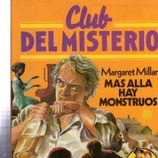 Tebeos: CLUB DEL MISTERIO, MÁS ALLÁ HAY MONSTRUOS, BRUGUERA, Nº 34. Lote 32336392