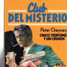 Tebeos: CLUB DEL MISTERIO, CINCO PERFUMES Y UN CRIMEN, BRUGUERA, Nº 49. Lote 32338408