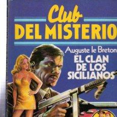 Tebeos: CLUB DEL MISTERIO, EL CLAN DE LOS SICILIANOS, BRUGUERA, Nº 28. Lote 32338454