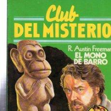 Tebeos: CLUB DEL MISTERIO, EL MONO DE BARRO, BRUGUERA, Nº 50. Lote 32338508