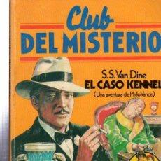 Tebeos: CLUB DEL MISTERIO, S.S.VAN DINE EL CASO KENNEL, BRUGUERA, Nº 44. Lote 32338522