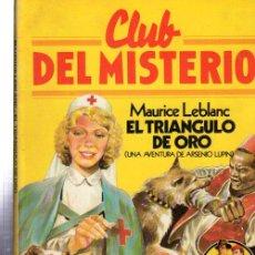 Tebeos: CLUB DEL MISTERIO, EL TRIÁNGULO DE ORO, BRUGUERA, Nº 42. Lote 32338538