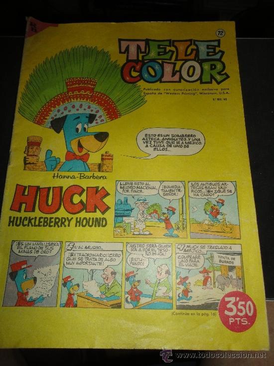 Tebeos: tele color, numeros 3 - 53 - 118 - 202 de editorial bruguera - Foto 4 - 32350900