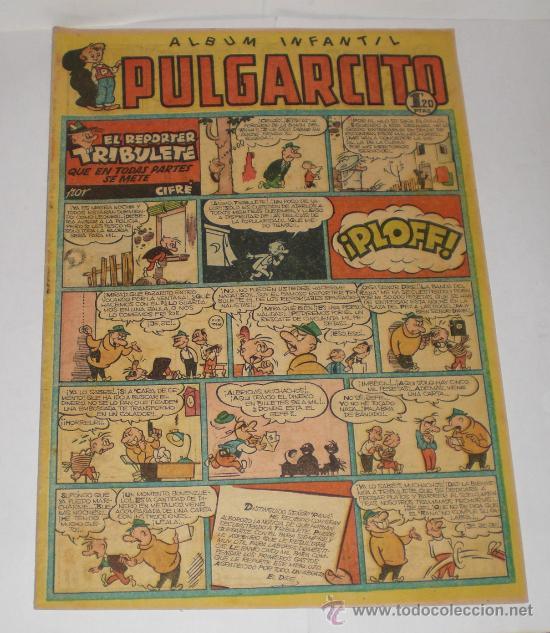 PULGARCITO. Nº 222. ALBUM INFANTIL. EL REPORTER TRIBULETE QUE EN TODAS PARTES SE METE (Tebeos y Comics - Bruguera - Pulgarcito)