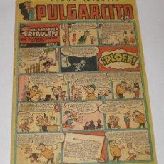 Tebeos: PULGARCITO. Nº 222. ALBUM INFANTIL. EL REPORTER TRIBULETE QUE EN TODAS PARTES SE METE. Lote 32410556