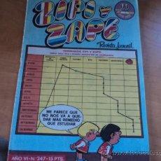 Tebeos: ZIPI Y ZAPE REVISTA JUVENIL; Nº 247; AÑO 1977. Lote 32442551