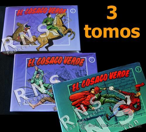 EL COSACO VERDE COLECCIÓN COMPLETA TOMO 1 2 3 - VÍCTOR MORA AVENTURA CÓMICS TOMOS CÓMIC EDICIONES B (Tebeos y Comics - Bruguera - Cosaco Verde)