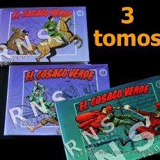 Tebeos: EL COSACO VERDE COLECCIÓN COMPLETA TOMO 1 2 3 - VÍCTOR MORA AVENTURA CÓMICS TOMOS CÓMIC EDICIONES B. Lote 32485147