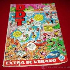 Tebeos: DDT EXTRA DE VERANO - BRUGUERA, 1971. Lote 33323003