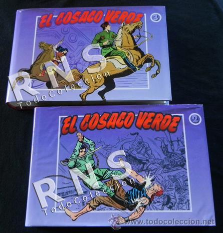 Tebeos: EL COSACO VERDE COLECCIÓN COMPLETA TOMO 1 2 3 - VÍCTOR MORA AVENTURA CÓMICS TOMOS CÓMIC EDICIONES B - Foto 3 - 32485147