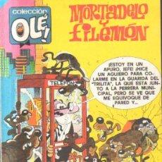 Giornalini: MORTADELO Y FILEMON. SIN NOVEDAD EN LA T.I.A Nº 203 A-COMIC-1882. Lote 32539617
