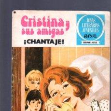 Tebeos: CRISTINA Y SUS AMIGAS. JOYAS LITERARIAS JUVENILES. SERIE AZUL. EDITORIAL BRUGUERA. Nº 11. 1978.. Lote 32609413