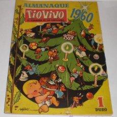 Tebeos: TIO VIVO - ALMANAQUE 1960 - 1 DURO. Lote 32663786