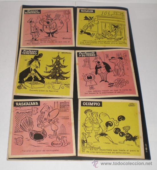 Tebeos: TIO VIVO - ALMANAQUE 1958 - 1 DURO (EXTRAORDINARIO ESTADO) - Foto 3 - 32664258