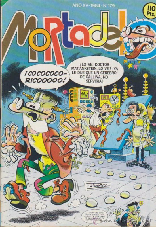 MORTADELO Nº 179. BRUGUERA 1984. (Tebeos y Comics - Bruguera - Mortadelo)