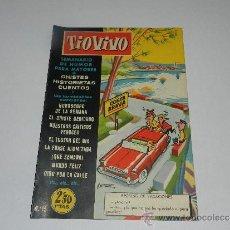 Tebeos: (M-10) TIO VIVO NUM 15 - EDT BRUGUERA , SEÑALES DE USO, LOMO CON MARCAS. Lote 32712733