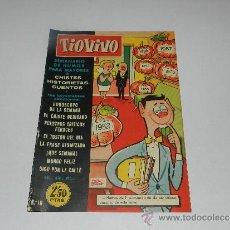 Tebeos: (M-10) TIO VIVO NUM 16 - EDT BRUGUERA , SEÑALES DE USO, LOMO CON MARCAS. Lote 32712744