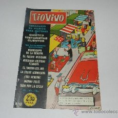 Tebeos: (M-10) TIO VIVO NUM 19 - EDT BRUGUERA , SEÑALES DE USO, LOMO CON MARCAS. Lote 32712780