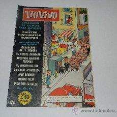 Tebeos: (M-10) TIO VIVO NUM 21 - EDT BRUGUERA , SEÑALES DE USO, LOMO CON MARCAS. Lote 32712799