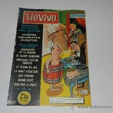 Tebeos: (M-10) TIO VIVO NUM 22 - EDT BRUGUERA , SEÑALES DE USO, LOMO CON MARCAS. Lote 32712809