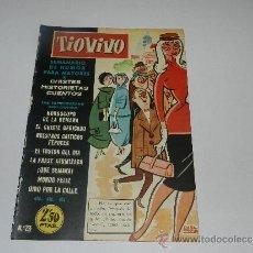 Tebeos: (M-10) TIO VIVO NUM 23 - EDT BRUGUERA , SEÑALES DE USO, LOMO CON MARCAS. Lote 32712820