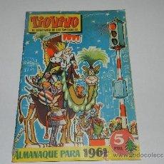 Tebeos: (M-10) TIO VIVO ALMANAQUE 1961 , EDC CLIPER, SEÑALES EN EL LOMO. Lote 32713007
