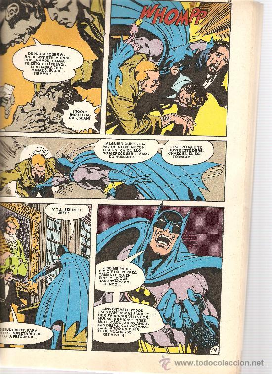Tebeos: BATMAN (EDITORIAL BRUGUERA, 1979-1980) - COLECCION COMPLETA, 7 TOMOS - Foto 10 - 32732953