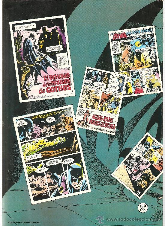 Tebeos: BATMAN (EDITORIAL BRUGUERA, 1979-1980) - COLECCION COMPLETA, 7 TOMOS - Foto 11 - 32732953