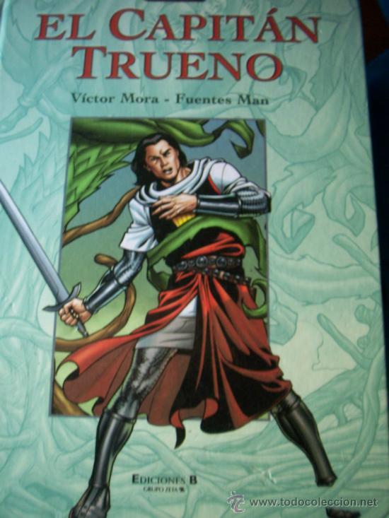EL CAPITAN TRUENO - ALBUM NUM. 2 TAPA DURA - 2003 - EDICIONES B COLOR 220 PAGS. (Tebeos y Comics - Bruguera - Capitán Trueno)