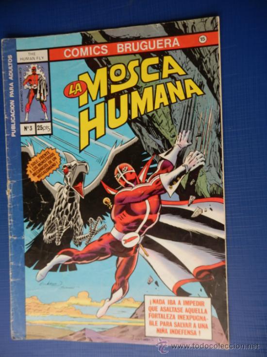 LA MOSCA HUMANA NUM. 3 COMICS BRUGUERA (Tebeos y Comics - Bruguera - Otros)
