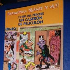 Tebeos: 13 RUE DEL PERCEBE. UN CASERON DE PELICULON EDICIONES B. 2001. Lote 32872298