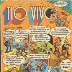 Tebeos: TEBEOS-COMICS GOYO - TIO VIVO - BRUGUERA - Nº DIFICIL - 1028 *AA99. Lote 32924965