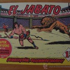 Tebeos: TEBEO EL JABATO Nº 20 EDICION 1991. Lote 32955084