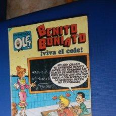 Tebeos: COL. OLE NUM. 9 BENITO BONIATO -ED. BRUGUERA 1984. Lote 32996844