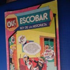 Tebeos: COL. OLE NUM. 297 ESCOBAR REY DE LA HISTORIETA-ED. BRUGUERA 1984. Lote 32996861