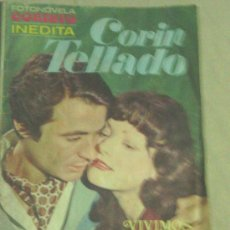 Tebeos: FOTONOVELA CORINTO INEDITA.CORIN TELLADO.Nº 24. AÑO 1976.. Lote 32992921