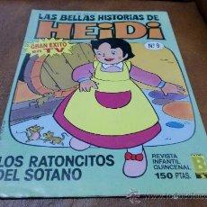 Tebeos: TBO.Nº 9 LAS BELLAS HISTORIAS DE HEIDI.- AÑO 1987. Lote 32993215