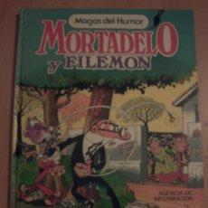 Tebeos: MORTADELO Y FILEMON MAGOS DEL HUMOR AGENCIA DE INFORMACIÓN 2ª EDICIÓN 1986. Lote 33082576