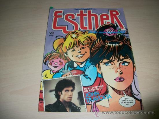 ESTHER Nº 55 REVISTA QUINCENAL EDITORIAL BRUGUERA (Tebeos y Comics - Bruguera - Esther)