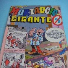 Tebeos: COMIC. MORTADELO GIGANTE Nº 7. ED. BRUGUERA AÑO 1976. PORTADA MÁS DOS PRIMERAS HOJAS RECORTADAS. Lote 33274535