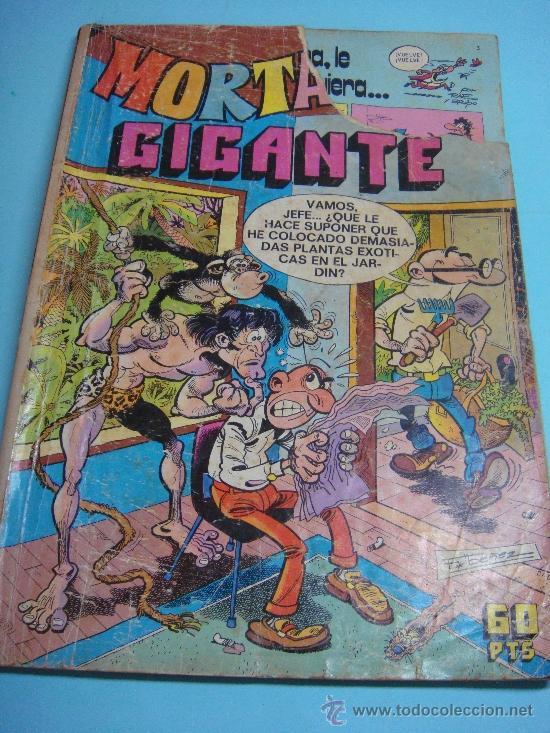 COMIC. MORTADELO GIGANTE Nº 9. 60 PTS. 1976. (Tebeos y Comics - Bruguera - Mortadelo)