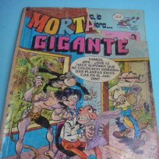 Tebeos: COMIC. MORTADELO GIGANTE Nº 9. 60 PTS. 1976.. Lote 33939045